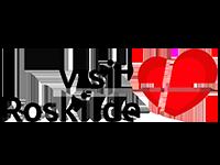 VisitRoskilde logo fotografering af Muvifo erhvervsfotograf og videograf